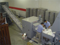 Houston Certified document shredding and recycling of paper and magnetic media